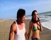 Putaria e sexo na praia com varias gostosas
